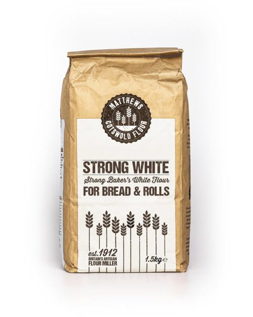Strong White Baker's White Flour For Bread and Rolls